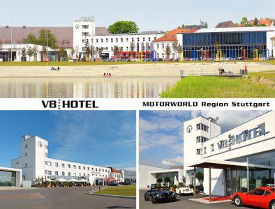 Hotel V8 HOTEL Motorworld Region Stuttgart, Böblingen