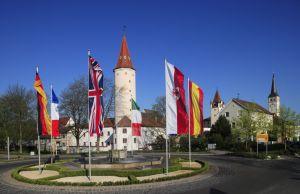Europabrunnen, Mindelheim