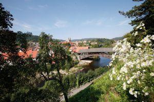 Holzbrücke, Forbach