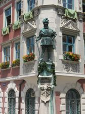 Georg I. von Frundsberg, Mindelheim