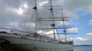 Segelschiff Gorch Fock I, Stralsund