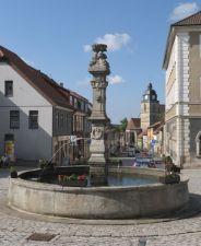Marktbrunnen, Eisfeld