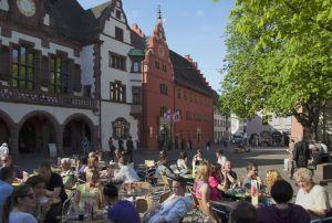 Rathaus mit Glockenspiel, Freiburg