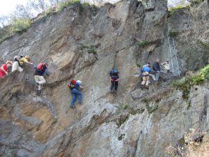 Bopparder Klettersteig, Boppard
