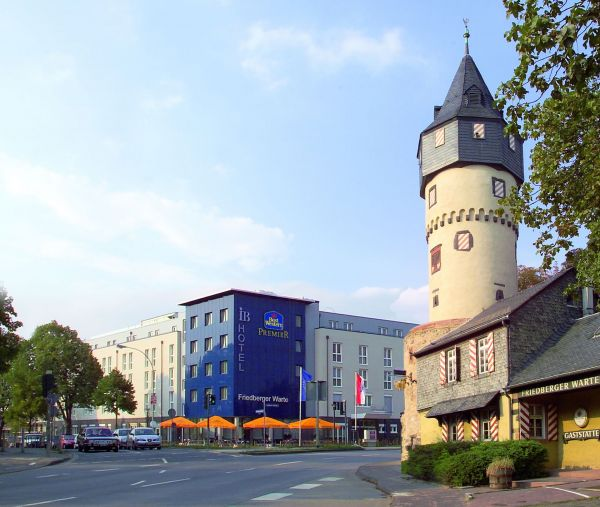 Hotel Friedberger Warte Frankfurt Am Main