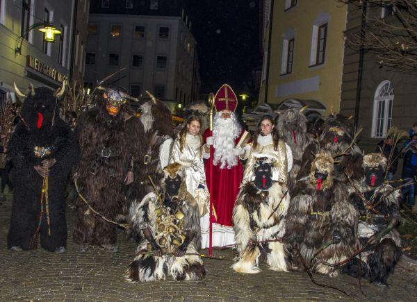 Nikolaus und Krampusse in Bad Reichenhall
