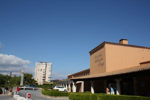 Eingangsbereich Riu Palace Bonanza Playa