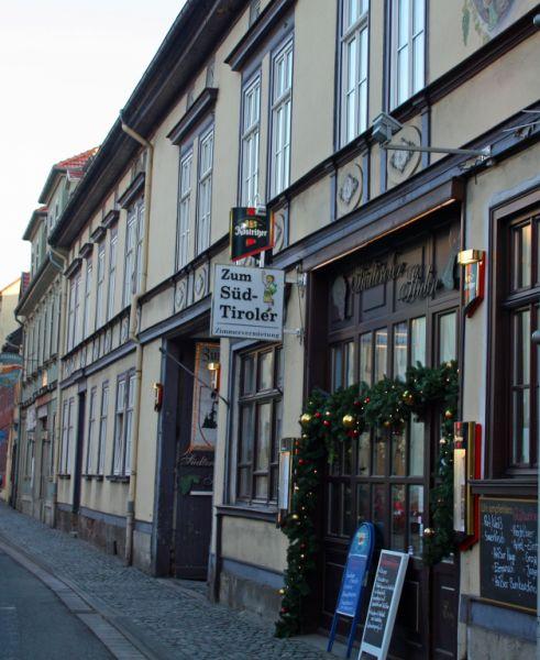 Arnstadt Pensionen Hotels