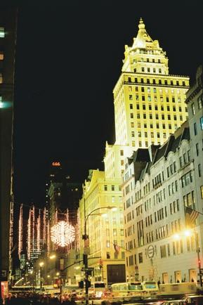 Christmas Shopping in New York: