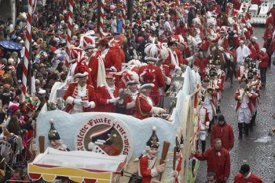 Die 11 populärsten Karnevalsveranstaltungen in Deutschland