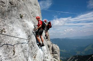 Klettersteig Achensee : Neues klettererlebnis am achensee der u201eachensee 5 gipfel