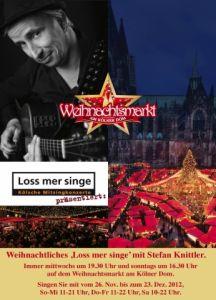Weihnachtsmarkt am Kölner Dom 2012