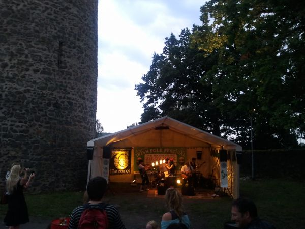 Irish Folk Festival - Tanz auf dem Vulkan