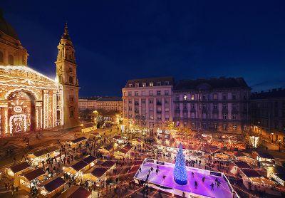 Adventszeit in Budapest