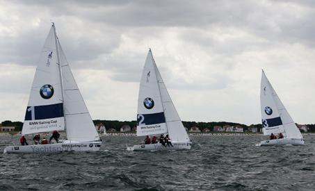 Deutschlandfinale der weltgrößten Amateur-Regatta-Serie in Rostock