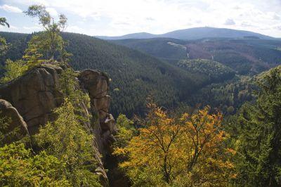 Bad Harzburg: beeindruckender Rundumblick weit übers Land