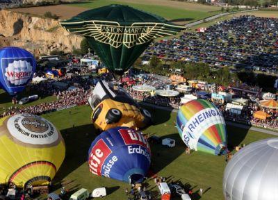 Ballooning-Spektakel im Sauerland