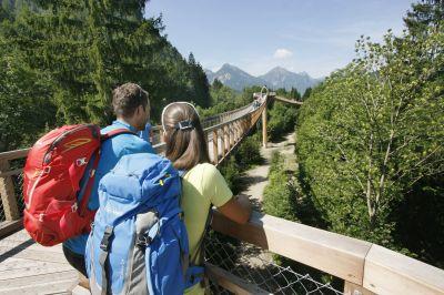 Füssen: Herbstwandern am Wildfluss Lech