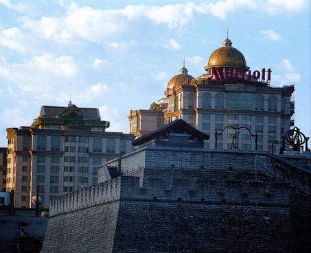 Das Peking Marriott Hotel City Wall pünktlich zur Olympiade geöffnet
