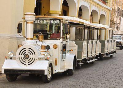 "Neu: Mit dem Zug ""Chu Chu Colonial"" durch Santo Domingo"
