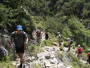 Lockeres Wandervergnügen auf griechischen Inseln