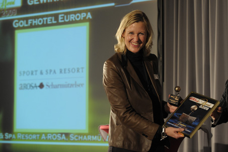 A-ROSA Scharmützelsee ist Europas bestes Golf Hotel