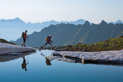 Heute Wandern, morgen Skifahren, täglich Gondeln: