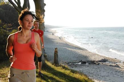 Nordic Walking mit Wellenrauschen: