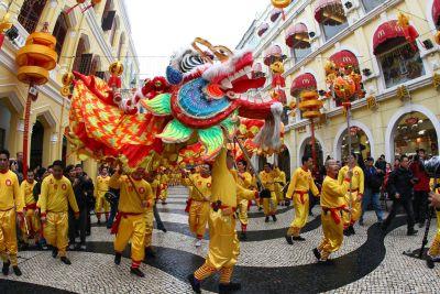 Macau im Jahr der Schlange