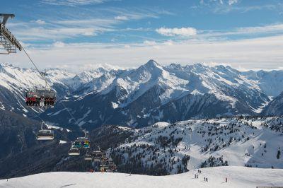 Winter in Mayrhofen/Österreich