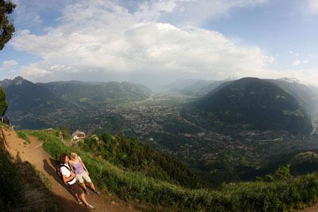 Herbstflimmern auf Südtirols Höhenwegen