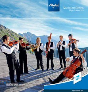 Acht Festivals der Spitzenklasse sind MusikHochGenuss im Allgäu