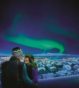 Nordlicht-Saison in Island eröffnet