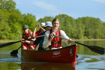 Kanu-Aktiv-Woche in der Mecklenburgischen Seenplatte