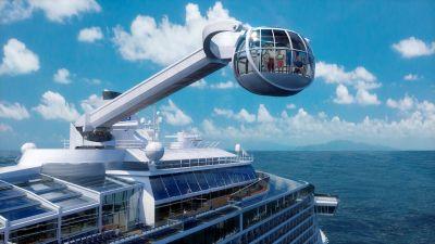 Beispielloses Design, Fallschirmspringen, Autoscooter, virtuelle Balkone und vieles mehr