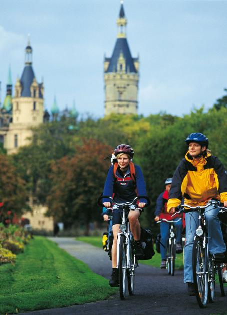 Die meisten Radreisen führen in den Nordosten
