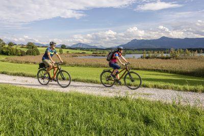 Neue Radtouren durch die Zugspitz Region