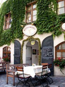 "Restaurant ""Pfistermühle"" im Münchner Platzl Hotel:"
