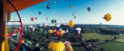 50 Heißluftballone, Modellballone und Luftschiffe