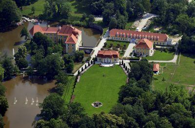 Herrschaftliches Lustwandeln in Bayerns Gärten