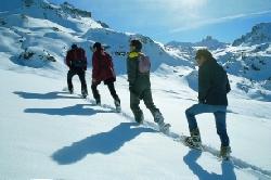 Winterliche Wellness im Wallis