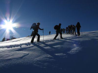 Schneeschuhwandern in der Zugspitz-Region: