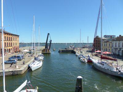 Segelrevier Stralsund und Hiddensee
