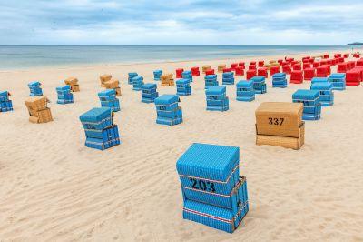 Ferien im Strandkorb