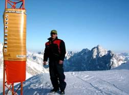 Sicherheit und Fun im Terrain Park Zugspitze