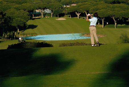 Golfen an der Algarve