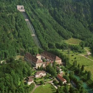 Wasserschloss am Walchensee: