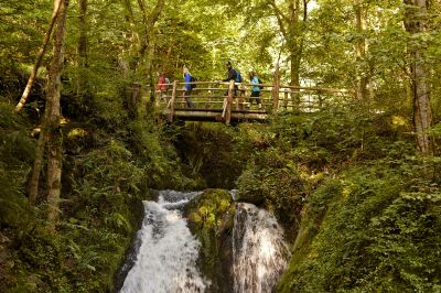 Zum tosenden Rausch-Wasserfall