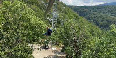 Neue Baumschwebebahn in Bad Harzburg