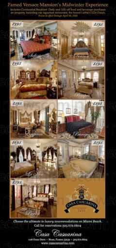 Luxus pur in der Casa Casuarina, der berühmten Versace-Villa